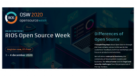 RIOS open source week